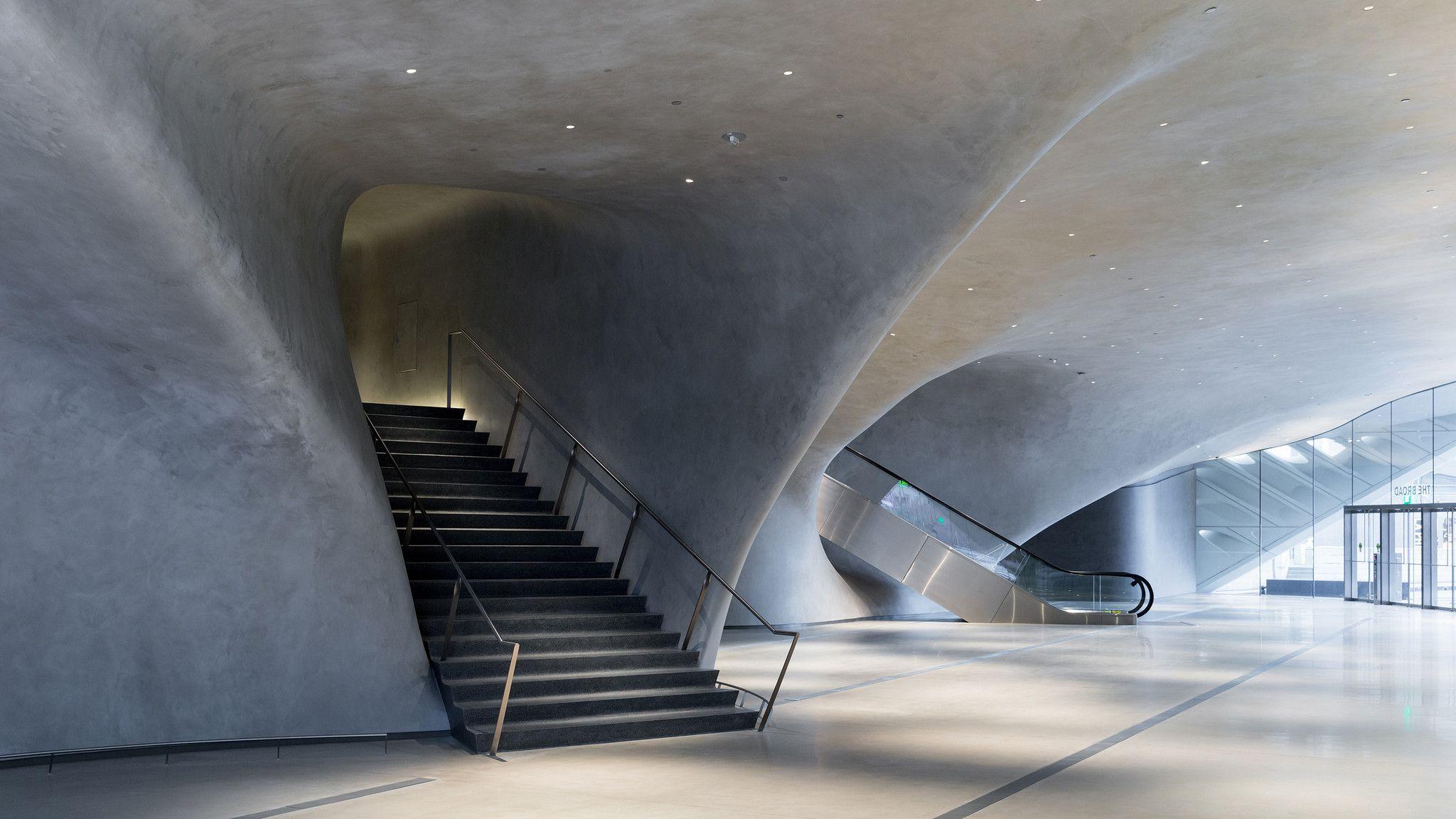 Broad Museum entrance