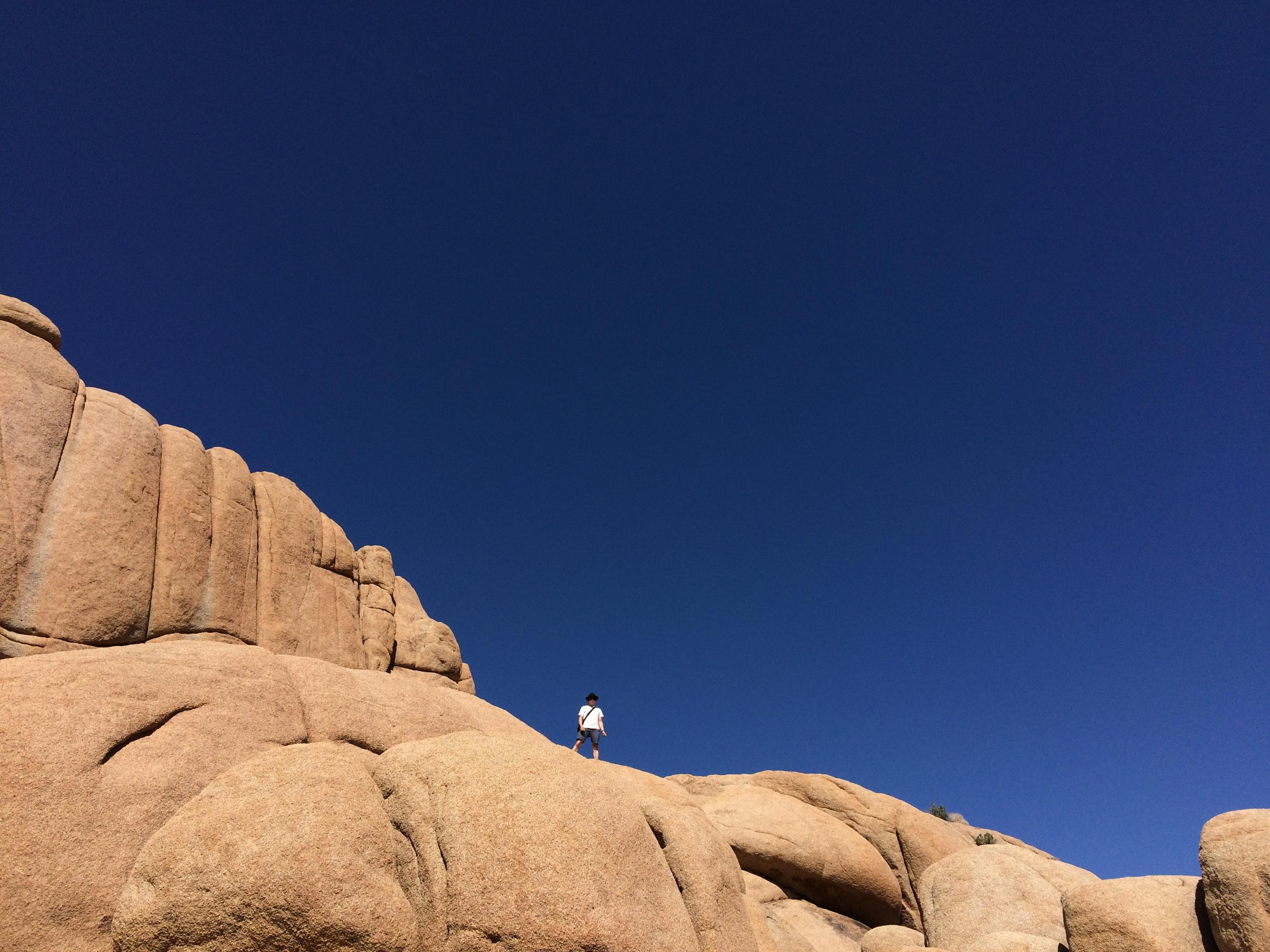 Joshua Tree, Jumbo Rocks, Justin